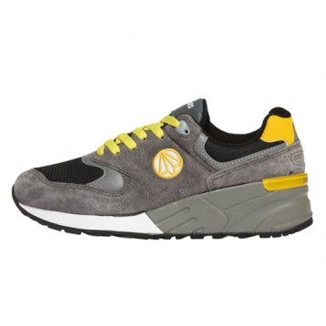 paperplanes new shoes pp1156 grey yellow